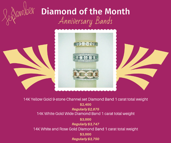 September Diamond of the Month